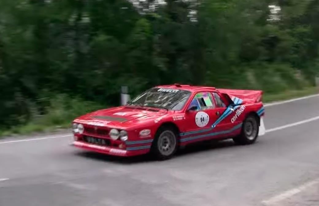 037 Lancia, a quién no impresiona este súper hierro?