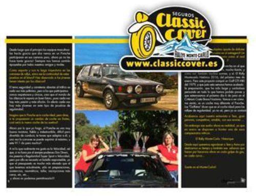Classiccover en el Monte-Carlo Historique con Nenas Team