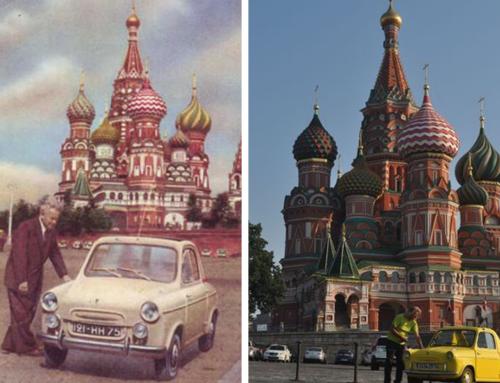MOSCÚ EN VESPA 400
